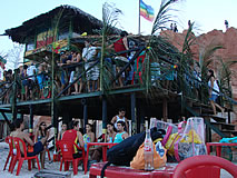 canoa quebrada - barraca freedom bar